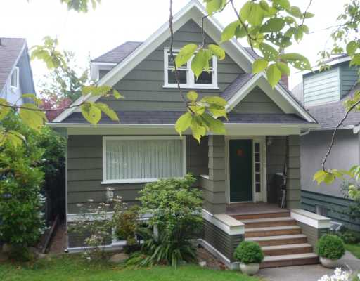 Main Photo: 3750 W 29TH Avenue in Vancouver: Dunbar House for sale (Vancouver West)  : MLS® # V785915