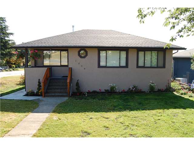 Main Photo: 1404 DENT Avenue in Burnaby: Willingdon Heights House for sale (Burnaby North)  : MLS® # V843532