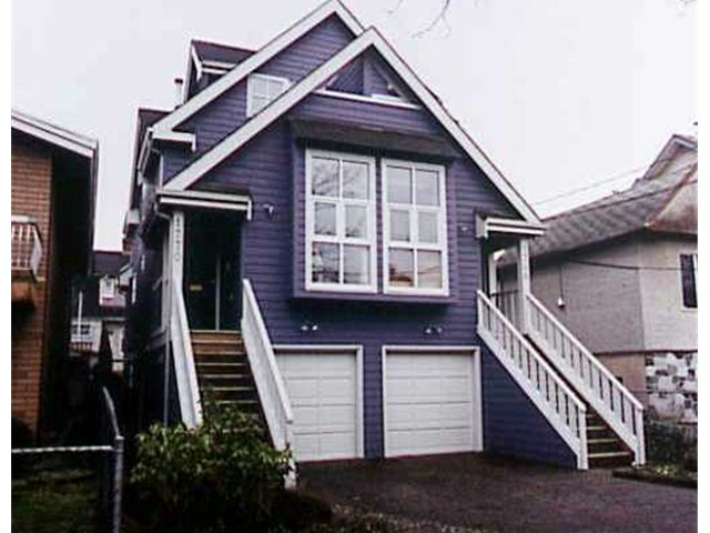 Main Photo: 1770 KITCHENER Street in Vancouver: Grandview VE House 1/2 Duplex for sale (Vancouver East)  : MLS(r) # V819862