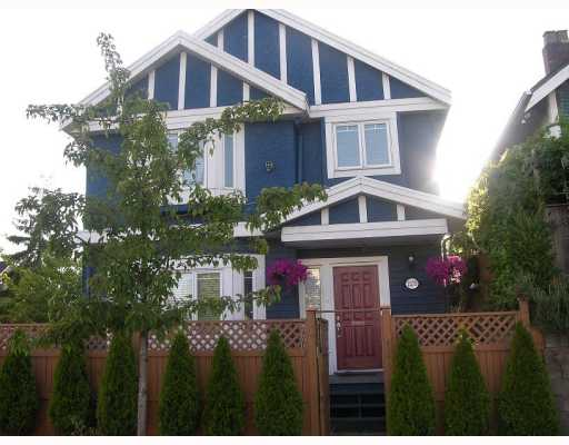 Main Photo: 2375 CLARK Drive in Vancouver: Mount Pleasant VE House 1/2 Duplex for sale (Vancouver East)  : MLS(r) # V780409
