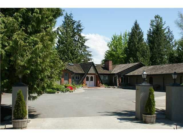 Main Photo: 15146 HARRIS Road in Pitt Meadows: North Meadows House for sale : MLS® # V852807