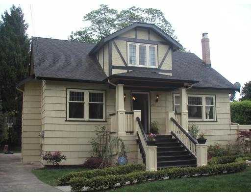 Main Photo: 5738 HOLLAND ST in Vancouver: Southlands House for sale (Vancouver West)  : MLS® # V536008