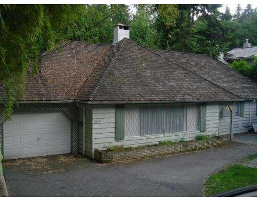 Main Photo: 4640 CAULFEILD Drive in West_Vancouver: Caulfeild House for sale (West Vancouver)  : MLS® # V772271