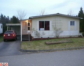 "Main Photo: 101 1884 MCCALLUM Road in Abbotsford: Central Abbotsford Manufactured Home for sale in ""GARDEN VILLAGE"" : MLS® # F1004411"