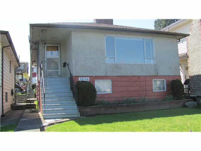 Main Photo: 3630 TANNER Street in Vancouver: Collingwood VE House for sale (Vancouver East)  : MLS® # V821442