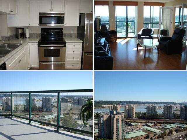 "Main Photo: 1404 121 10TH Street in New Westminster: Uptown NW Condo for sale in ""VISTA ROYALE"" : MLS(r) # V842639"