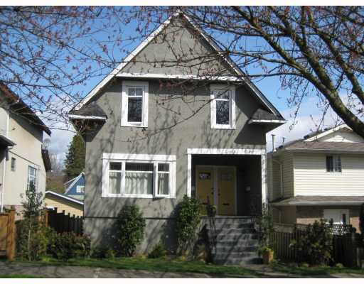 Main Photo: 929 E 11TH Avenue in Vancouver: Mount Pleasant VE House for sale (Vancouver East)  : MLS® # V719986