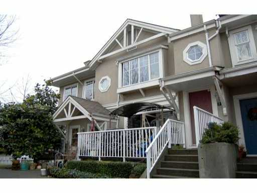 "Main Photo: 6 2422 HAWTHORNE Avenue in Port Coquitlam: Central Pt Coquitlam Townhouse for sale in ""HAWTHORNE GATE"" : MLS® # V861373"