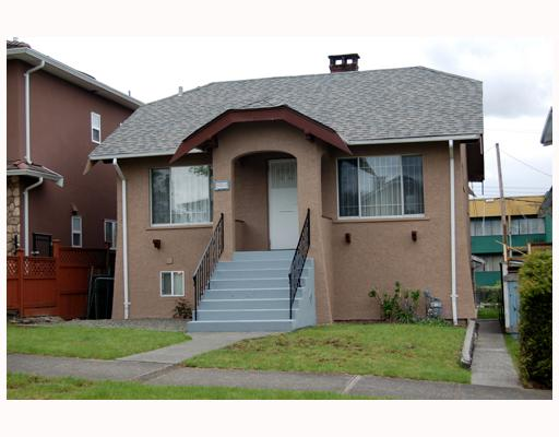 Main Photo: 3450 FRANKLIN Street in Vancouver: Hastings East House for sale (Vancouver East)  : MLS(r) # V765835