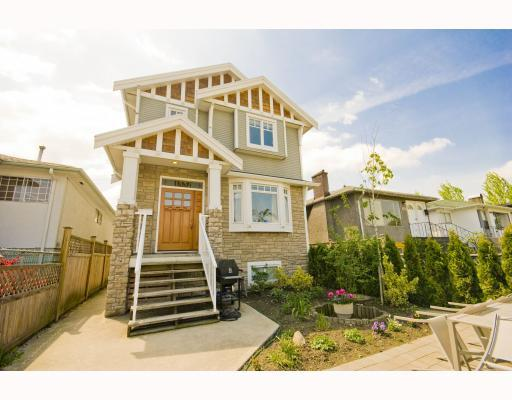 Main Photo: 1528 E PENDER Street in Vancouver: Hastings House 1/2 Duplex for sale (Vancouver East)  : MLS® # V773949