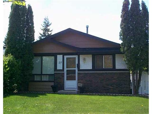 Main Photo: 27 CHARING CROSS Crescent in WINNIPEG: St Vital Residential for sale (South East Winnipeg)  : MLS® # 2708231