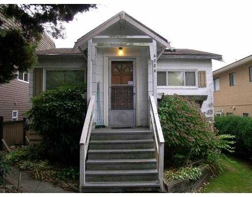 Main Photo: 4086 NAPIER Street in Burnaby: Willingdon Heights House for sale (Burnaby North)  : MLS® # V615266