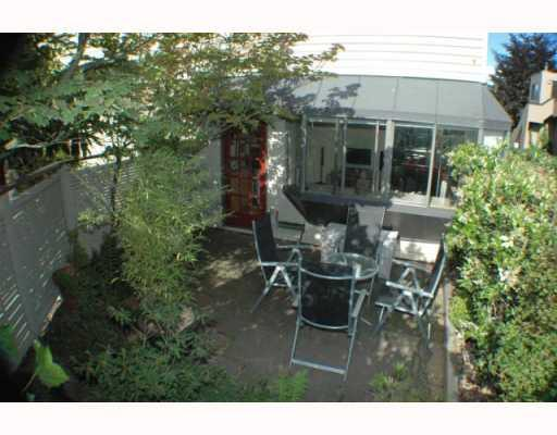 Photo 10: 11 1263 W 8TH Avenue in Vancouver: Fairview VW Townhouse for sale (Vancouver West)  : MLS® # V777797
