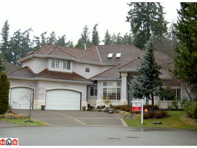 Main Photo: 13267 21ST Avenue in Surrey: Elgin Chantrell House for sale (South Surrey White Rock)  : MLS®# F1101224