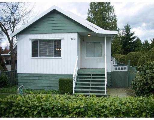 Main Photo: 2561 E 27TH Avenue in Vancouver: Collingwood VE House for sale (Vancouver East)  : MLS® # V804983