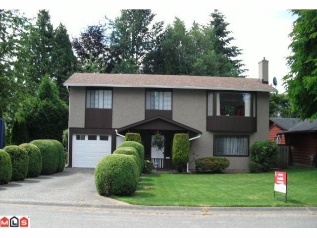 Main Photo: 34570 MERLIN Drive in Abbotsford: Abbotsford East House for sale : MLS®# F1100556