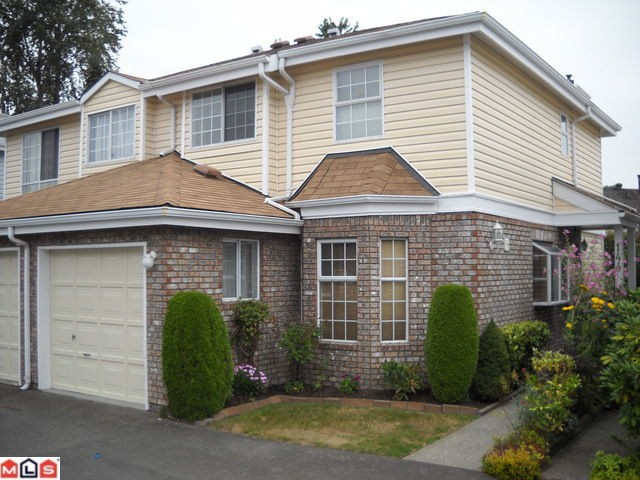 "Main Photo: 144 12233 92 Avenue in Surrey: Queen Mary Park Surrey Townhouse for sale in ""Orchard Lake"" : MLS® # F1021469"