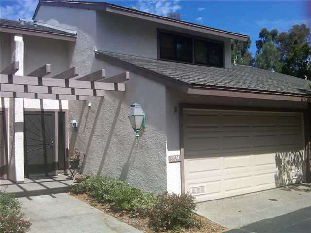 Main Photo: LA JOLLA Townhome for sale : 3 bedrooms : 3314 Caminito Vasto