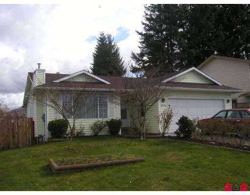 Main Photo: 2976 WILLBAND ST in Abbotsford: Central Abbotsford House for sale : MLS®# F2508411