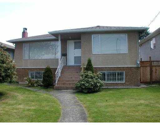 Main Photo: 4538 MANOR Street in Vancouver: Collingwood VE House for sale (Vancouver East)  : MLS® # V768767