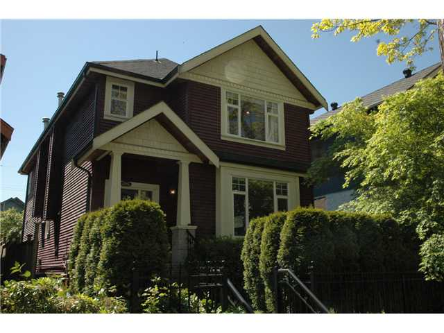 Main Photo: 2162 E 2ND Avenue in Vancouver: Grandview VE House 1/2 Duplex for sale (Vancouver East)  : MLS® # V829062