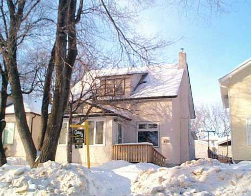 Main Photo: 437 DE LA MORENIE Street in WINNIPEG: St Boniface Single Family Detached for sale (South East Winnipeg)  : MLS® # 2601495