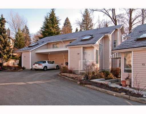 "Main Photo: 64 1235 LASALLE Place in Coquitlam: Canyon Springs Townhouse for sale in ""CREEKSIDE PLACE"" : MLS®# V756189"