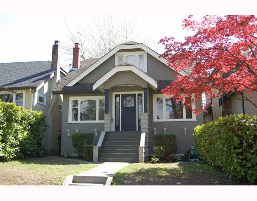 "Main Photo: 366 W 22ND Avenue in Vancouver: Cambie House for sale in ""CAMBIE"" (Vancouver West)  : MLS® # V766783"