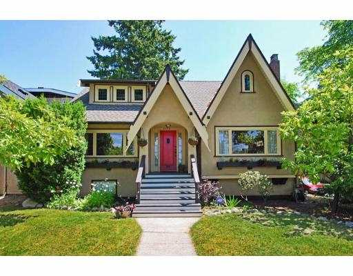 Main Photo: 5392 BLENHEIM Street in Vancouver: Kerrisdale House for sale (Vancouver West)  : MLS® # V777878