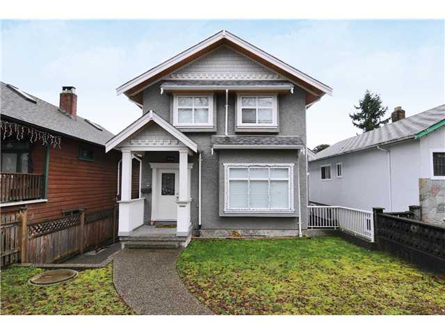 Main Photo: 2126 E 5TH Avenue in Vancouver: Grandview VE House for sale (Vancouver East)  : MLS®# V859698