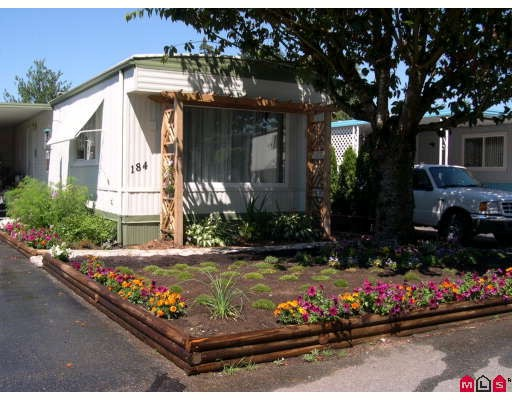 "Main Photo: 184 3665 244 Street in Langley: Otter District Manufactured Home for sale in ""LANGLEY GROVE ESTATES"" : MLS®# F2907114"