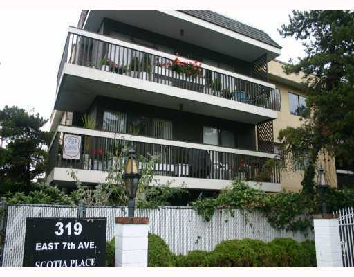 "Main Photo: 202 319 E 7TH Avenue in Vancouver: Mount Pleasant VE Condo for sale in ""SCOTIA PLACE"" (Vancouver East)  : MLS® # V776159"