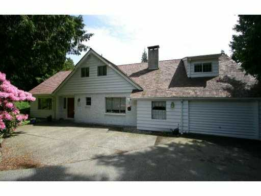 Main Photo: 4718 CAULFEILD Drive in West Vancouver: Caulfeild House for sale : MLS® # V816009