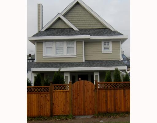 Main Photo: 1663 VICTORIA Drive in Vancouver: Grandview VE House 1/2 Duplex for sale (Vancouver East)  : MLS® # V799750