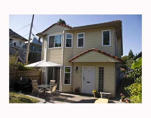 Main Photo: 1123 E 11TH Avenue in Vancouver: Mount Pleasant VE House 1/2 Duplex for sale (Vancouver East)  : MLS® # V802287