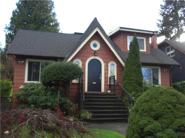 Main Photo: 3268 W 26TH Avenue in Vancouver: MacKenzie Heights House for sale (Vancouver West)  : MLS® # V858054