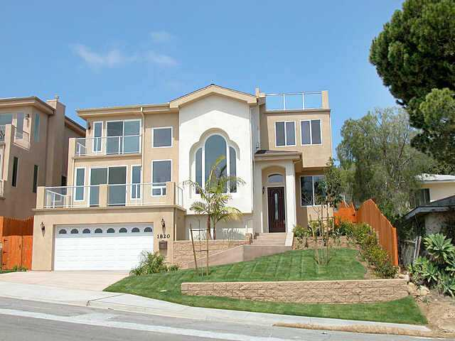 Main Photo: PACIFIC BEACH Residential Rental for sale or rent : 4 bedrooms : 1820 Malden St