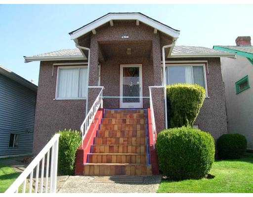 Main Photo: 4768 LITTLE Street in Vancouver: Victoria VE House for sale (Vancouver East)  : MLS® # V626305