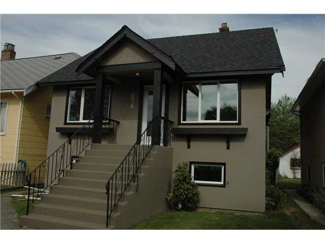 Main Photo: 5138 CHESTER Street in Vancouver: Fraser VE House for sale (Vancouver East)  : MLS® # V838434