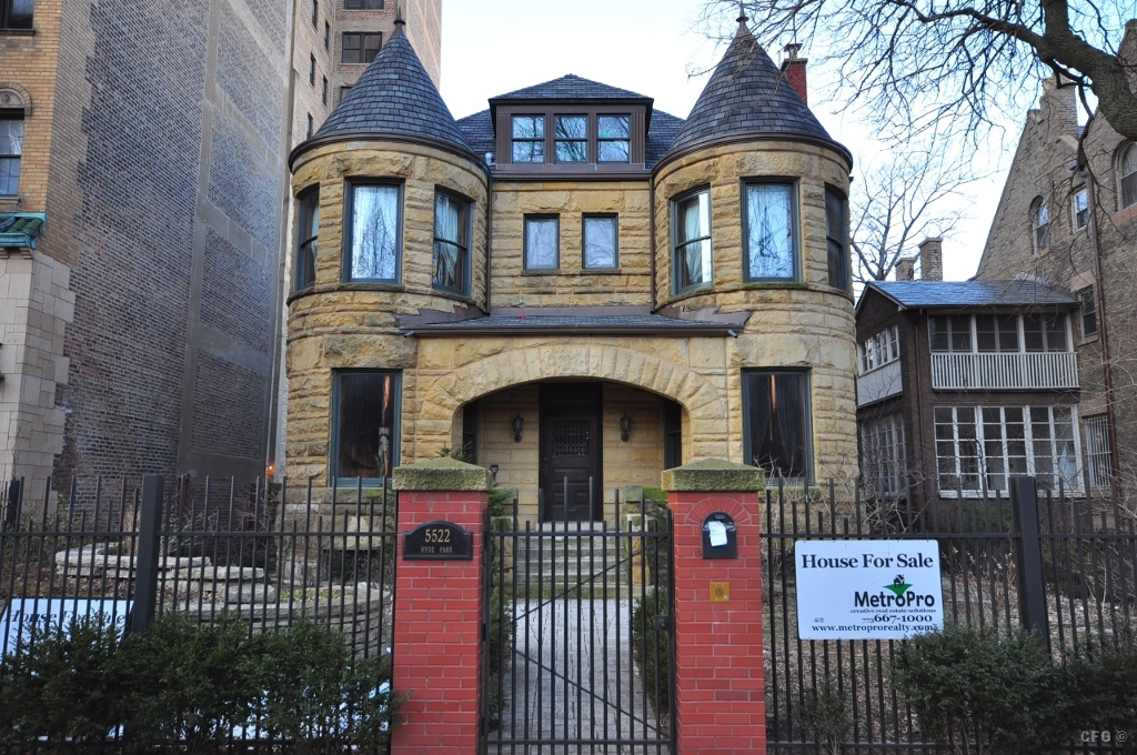 Image gallery hyde park chicago home for Chicago mansion for sale