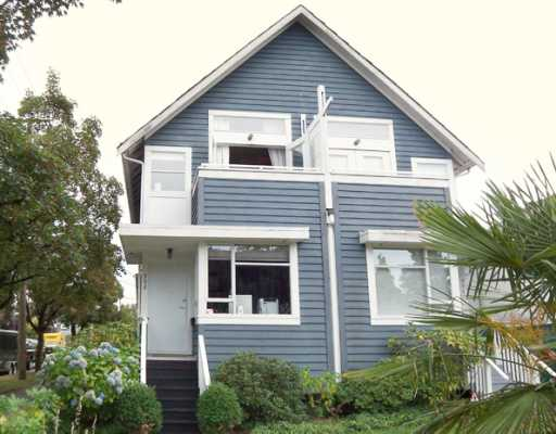 Main Photo: 992 E 13TH Avenue in Vancouver: Mount Pleasant VE House 1/2 Duplex for sale (Vancouver East)  : MLS® # V780649
