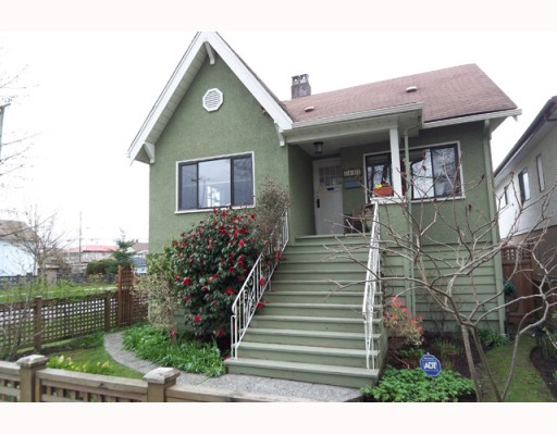 Main Photo: 2803 GRANT Street in Vancouver: Renfrew VE House for sale (Vancouver East)  : MLS® # V762268