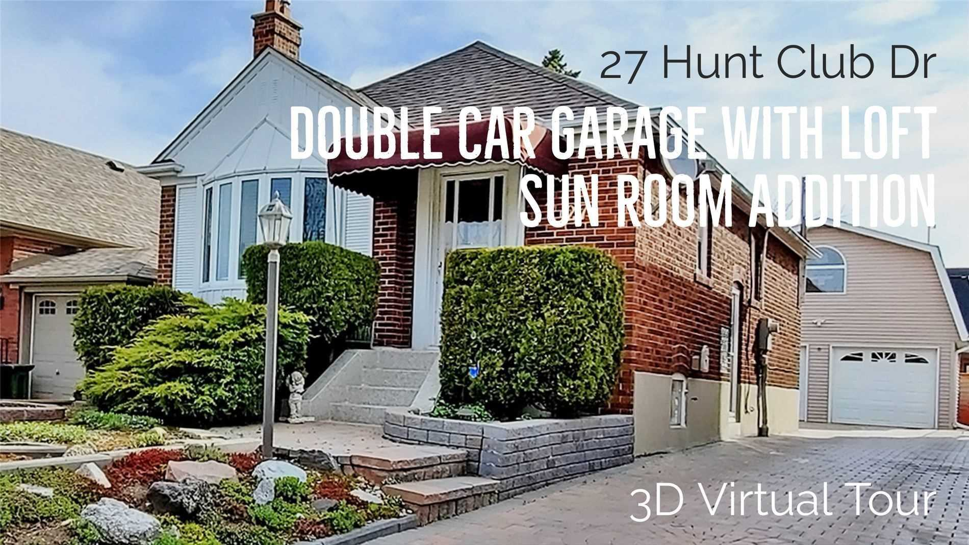 FEATURED LISTING: 27 Hunt Club Drive Toronto