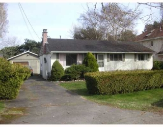 Main Photo: 9400 GORMOND Road in Richmond: Seafair House for sale : MLS®# V760275