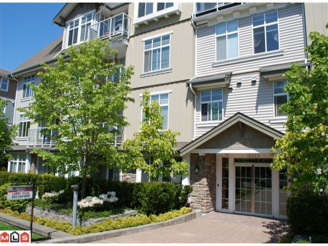 "Main Photo: 103 15323 17A Avenue in Surrey: King George Corridor Condo for sale in ""SEMIAHMOO PLACE"" (South Surrey White Rock)  : MLS®# F1012918"