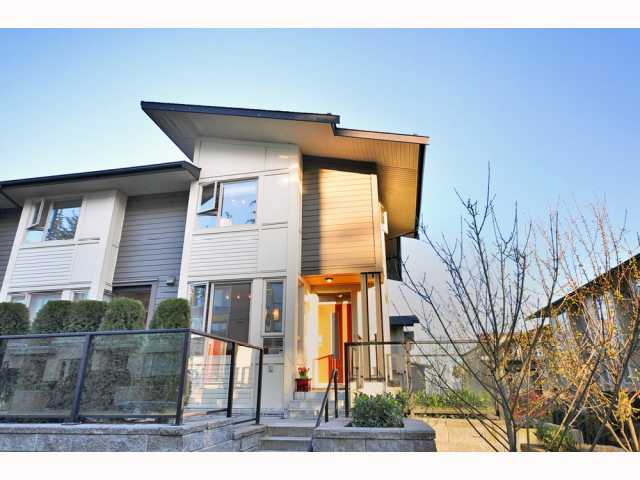 "Main Photo: 49 9229 UNIVERSITY Crescent in Burnaby: Simon Fraser Univer. Townhouse for sale in ""SERENITY"" (Burnaby North)  : MLS(r) # V813980"