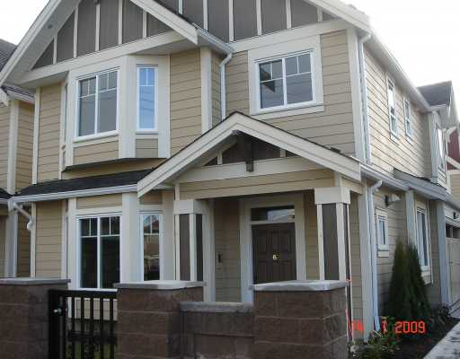 "Main Photo: 6 5280 WILLIAMS Road in Richmond: Steveston North Townhouse for sale in ""HOLLY VISTAS"" : MLS(r) # V778134"