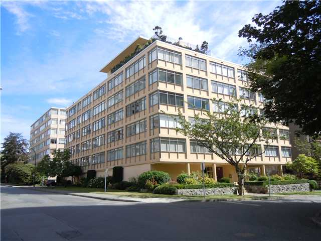"Main Photo: 411 1975 PENDRELL Street in Vancouver: Downtown VW Condo for sale in ""PARKWOOD MANOR"" (Vancouver West)  : MLS® # V848532"