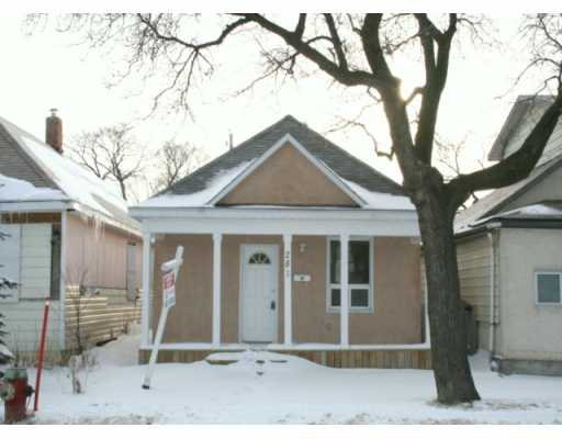 Main Photo: 281 FERRY Road in WINNIPEG: St James Residential for sale (West Winnipeg)  : MLS® # 2904056