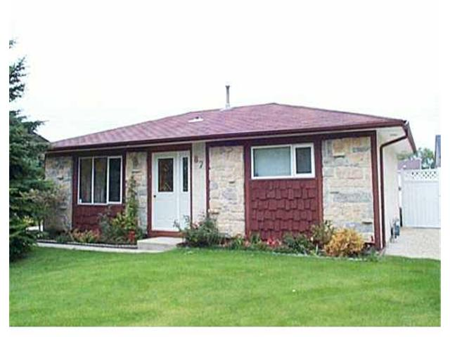 Main Photo: 87 MUTCHMOR Close in WINNIPEG: East Kildonan Residential for sale (North East Winnipeg)  : MLS® # 2311593